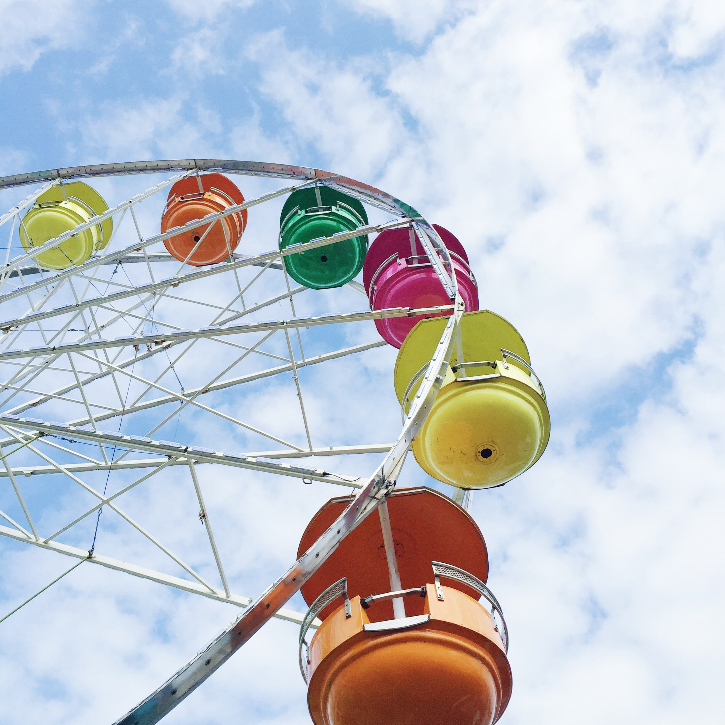 ferris wheel, outdoor