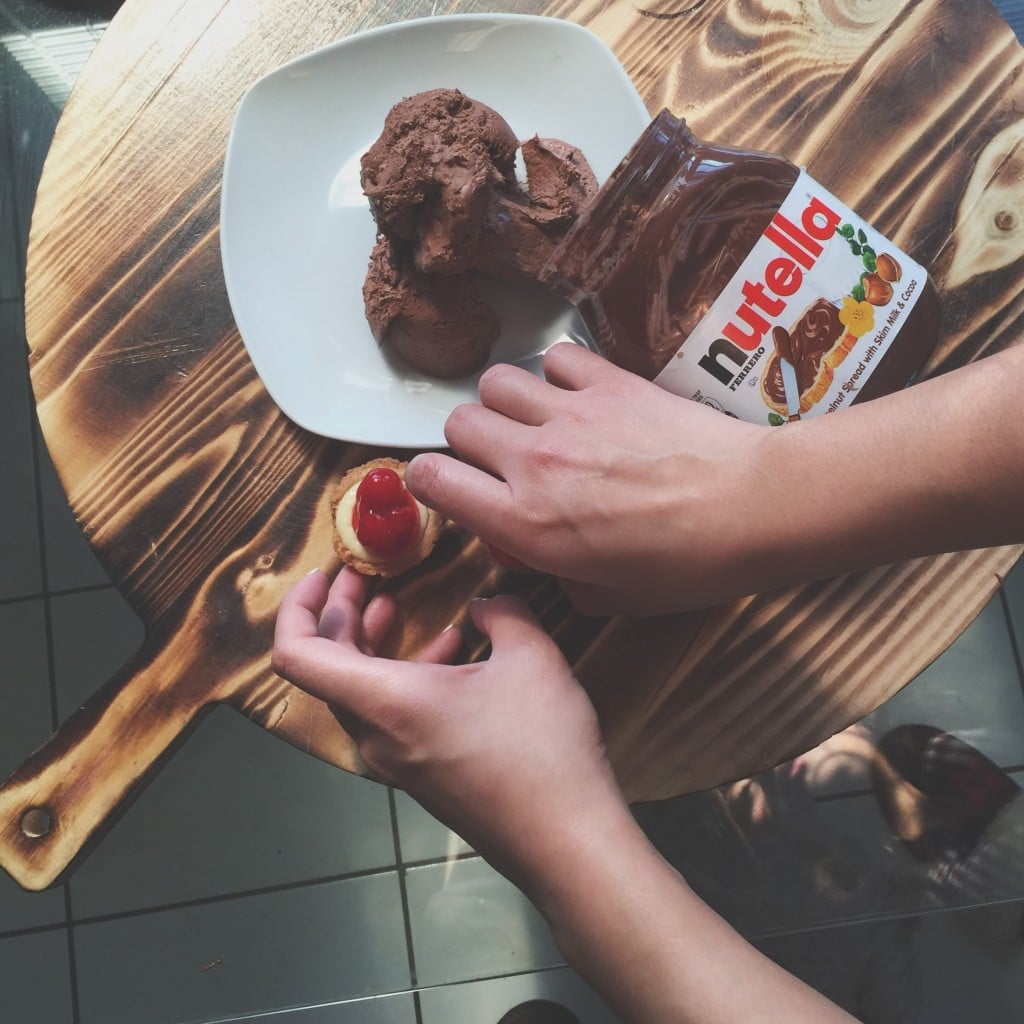 nutella serving