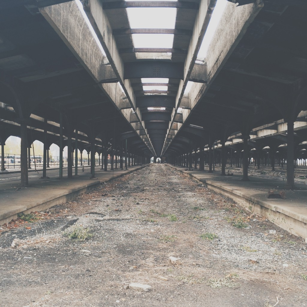old rail yard
