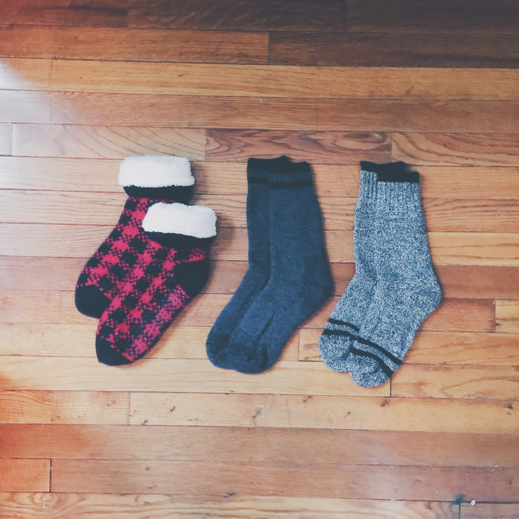 sock arrangement