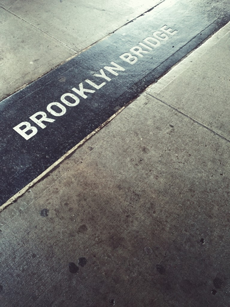 brooklyn bridge entrance