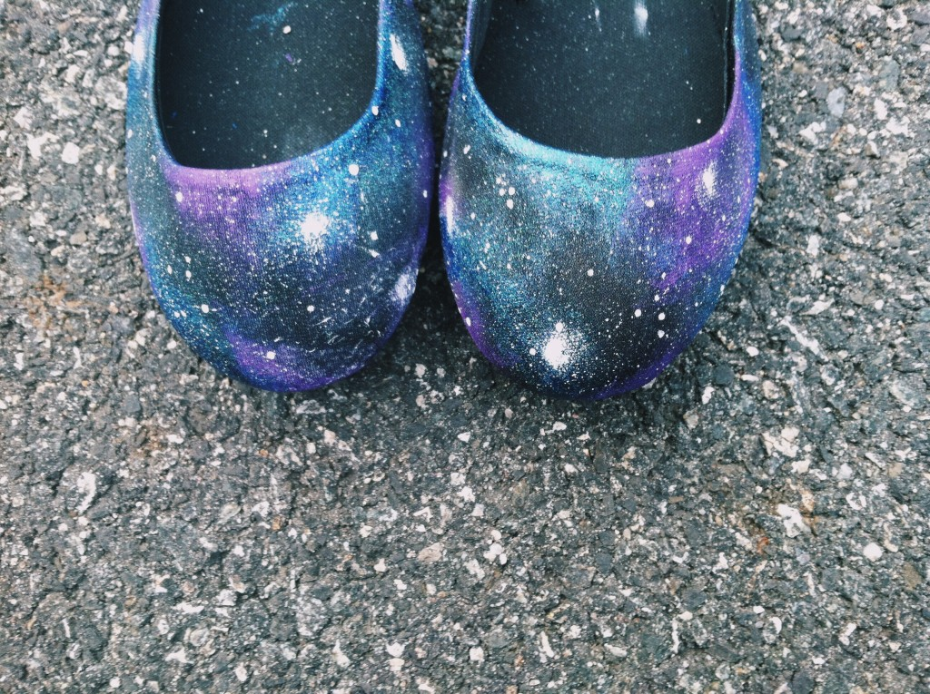 galaxy shoes front