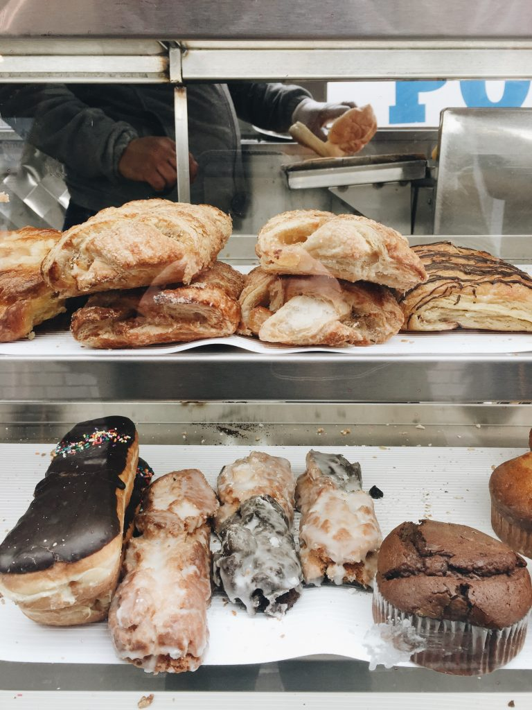 city food cart pastry