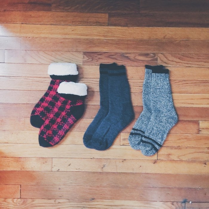 sets of socks