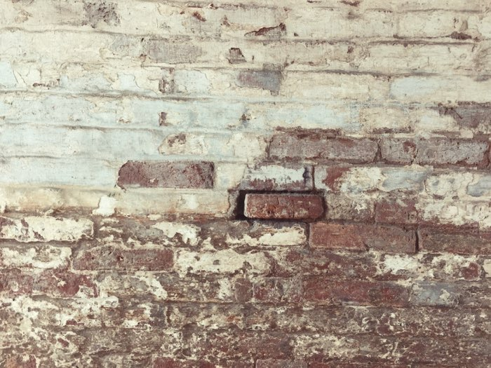 brick wall texture paint