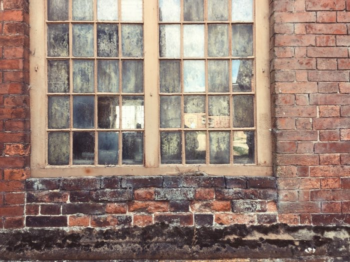 old farm window panes